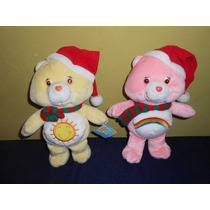 Lote 2 Peluches Ositos Cariñositos Navidad 27 Cms