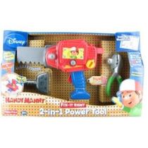Handy Manny 2 En 1 Sierra Taladro Electrico Parlante Squeeze