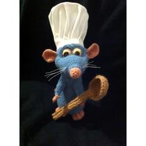 Ratatoille Chefcito Disney Tejido Amigurumi