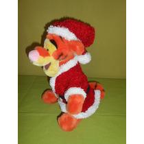 Peluche Tiger Winnie Pooh Santa Claus Disney Store 32 Cms