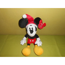 Peluche Mickey Mouse Disney Marca Galerie 34 Cms Navidad