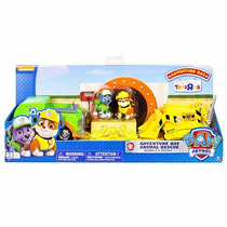 Paw Patrol Set Adventure Bay Rocky Y Rubble Animal Rescue