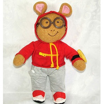 Peluche Arthur Dress Me Nickelodeon Playskool 40 Cms