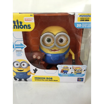 Minion Bob Con Osito Exclusivo Thinkway 18cm