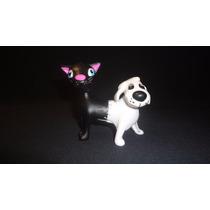 Figura De Caricaturas De Televisión Gato Perro Con Sonidos