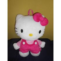 Peluche Hello Kitty Mochila 37 Cms Original Sanrio