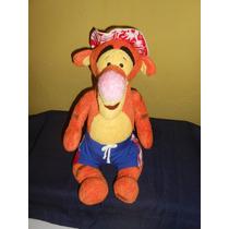 Peluche Tigger Playa Winnie Pooh Disney Store 32 Cms