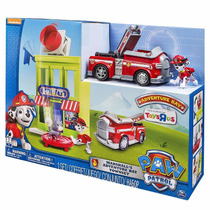 Paw Patrol Adventure Bay Torre Rescate Marshall Accesorios