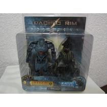 Paquete Doble De Figuras Pacific Rim Serie 1 Gipsy Vs Kaiju