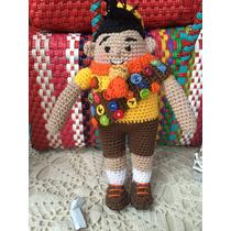 Russel Muñeco Tejido A Mano Crochet
