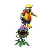 Plants Vs Zombies Acción Figura 2 Pack - Chomper Lip E Ingen