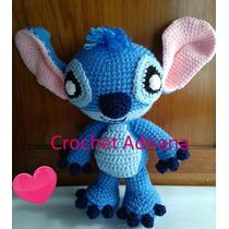 Stitch Amigurumi Tejido Crochet