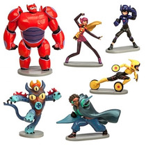 Set De Figuras De Disney Big Hero6 !!! Miden 7 Cm Aprox.