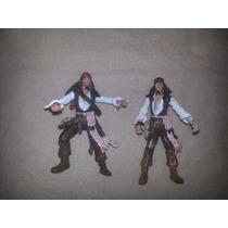 Piratas Del Caribe Jack Sparrow Disney Zizzle 2 Figuras