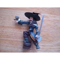 Figura De Pirata Con Loro Mide 12 Cms