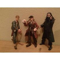 Figuras Piratas Del Caribe 10 Cm Originales Disney
