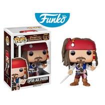 Jack Sparrow Disney Funko Pop Los Piratas De El Caribe