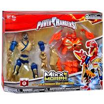 Power Ranger - Mixxn Morph Samurai Gold Ranger And Clawzord