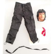 Hot Toys Rambo Ropa Y Cabeza