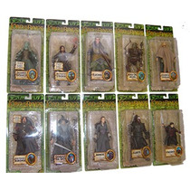 Lord Of The Rings Serie De 10 Fig. Diferentes Serie 1vbc
