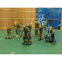 Lord Of The Ring Lote Aragorn Y 5 Figuras Esc 1/32 Playalong
