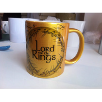 Taza Dorada The Lord Of De Rings