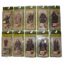 Lord Of The Rings Serie De 10 Fig. Diferentes Serie 3vbc