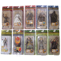 Lord Of The Rings Serie De 10 Fig. Diferentes Serie 1sbc