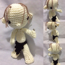 Muñeco Gollum Amigurumi