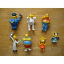 Figuras De Los Simpson Miden 10 Cms En 60.00 Cada Uno