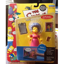 Figura Nueva Patty Bouvier Los Simpsons Playmates Serie 4