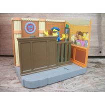 Tm.simpsons Court Room Diorama