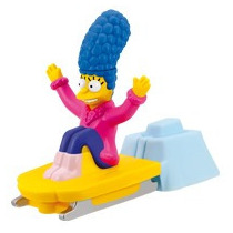 Simpsons Marge Simpson Winter Aventures Burger King 2012 Hm4