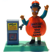 Simpsons Apu Spooky Lights Up Figura Nueva Burger King 2001