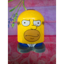 Los Simpson Figura De Homer Del Mc Donalds O Burger King