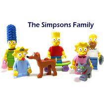 La Famila Simpson Set De 7 Minifiguras Lego