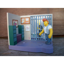 Tm.simpsons Police Station Diorama