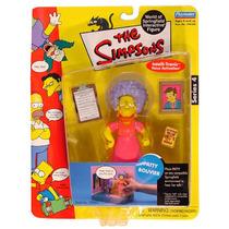 Simpsons Serie 4 Patty Bouvier Figura Nueva Wos Playmates