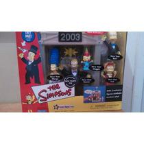 Simpsons Familia Año Nuevo 2003 Escenario Playmates