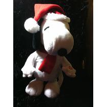 Snoopy Santa Claus Y Bufanda
