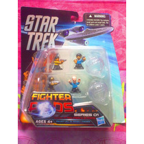 Star Trek Serie 1 Figuras Miniatura Fighter Pods Modelo 2