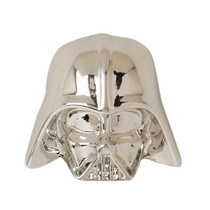 Aretes Star Wars Darth Vader Color Cromo The Force Awakenes