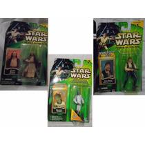 Lote 10fig Potj Sabe Vader Eeth Koth Star Wars Han Solo Jedi