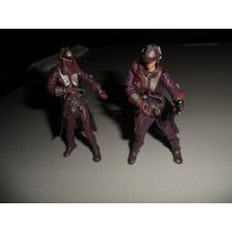 2 Figuras De Star Wars Zam Wesell Ataque De Los Clones