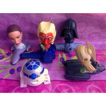 Star Wars Figuras Del Burguer King O Mc Donalds