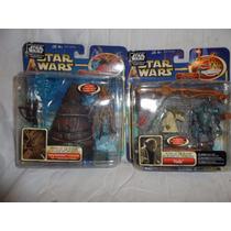Lote De Luxe Figure Aotc Star Wars Anakin Yoda Nexu Fett