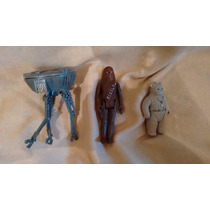 Lote 3 Vintage Probot Chewbacca Ewok Jefe Chirpa 1980 1983