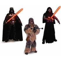 Star Wars Combo Darth Vader Kylo Ren Chewbacca Interactivos