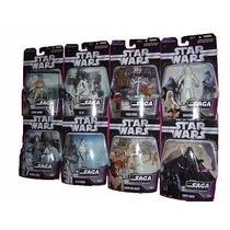 Star Wars Saga Collection Serie De 8 Figuras Diferentes Powe