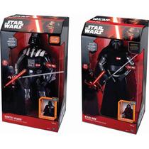 Star Wars Combo Darth Vader Kylo Ren Interactivos Oferta !